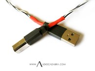 Audiocadabra™ Optimus™ Handcrafted USB Cables