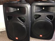 JBL EON 1500 Passive P.A Speakers