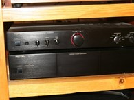 rotel rc and rb 960bx pre and power amplifier
