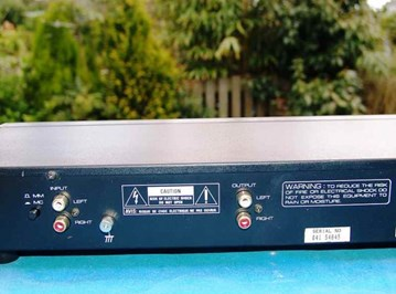 Rotel RQ-970BX Phono Equalizer Pre Amp