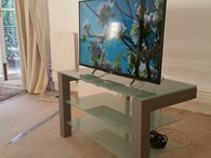 Schroers & Schroers Audio and TV Stand