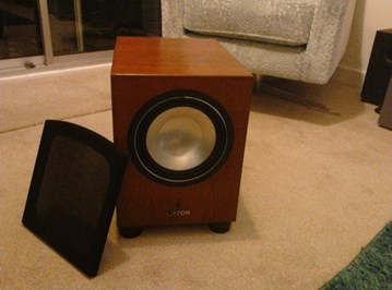 canton sub 85 subwoofers hifi in touch. Black Bedroom Furniture Sets. Home Design Ideas
