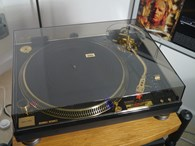 Technics SL1200GLD limited edition turntable