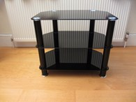 Black TV/AV/Hi-Fi Stand In Brand New Condition!