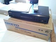 Onkyo Dx-7355 CD player - black