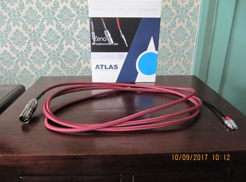 Atlas Zeno headphone cable for Sennheiser HD800