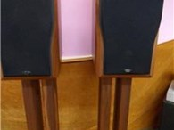 Chario Academy Sonnet Loudspeakers with Stands