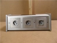 MS HD Power Block 6 Way Schuko Sockets