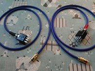 Pair of QUAD II to Phono cables