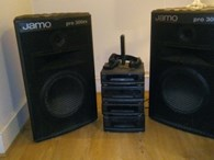 2 pro 300 Jamo Speakers  and Hi-fi system