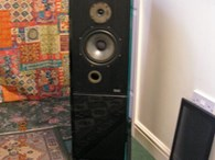 spendor sp2/2 glass clad speakers , unique.