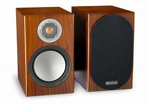 MONITOR AUDIO SILVER SERIES 50 RED WOOD SPEAKERS