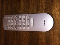 Bose Wave III Premium Backlit Remote