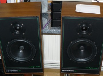 Heybrook HB1 Loudspeakers with stands