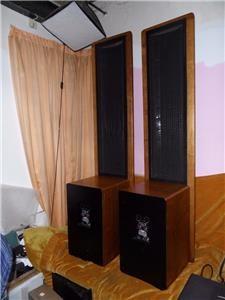 SOUNDLAB DYNASTAT ELECTROSTATIC LOUDSPEAKERS - Electrostatic
